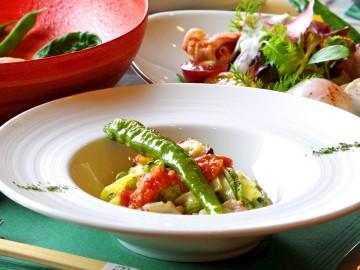 【パスタランチコース】もっちりとした麺に絡む上品な花笑舞特製のソースが美味!(画像はイメージです)
